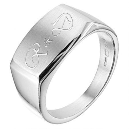 Zilveren ring heren