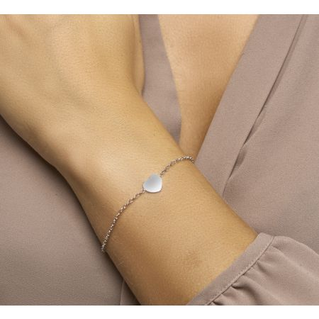 Armband hart 1,2 mm 16 + 3 cm