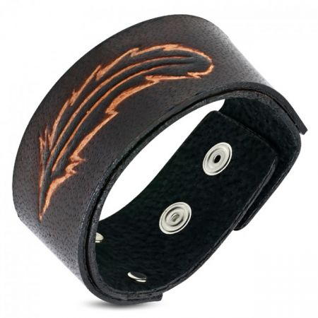 Leren Mannen Armband