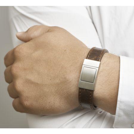 Leren Armband  Graveerbaar