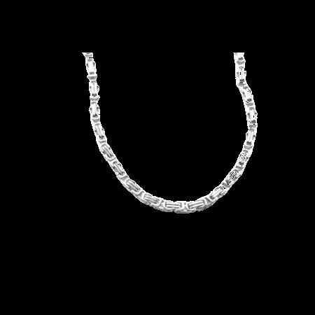 Stalen Heren koningsketting 5 mm 70 cm