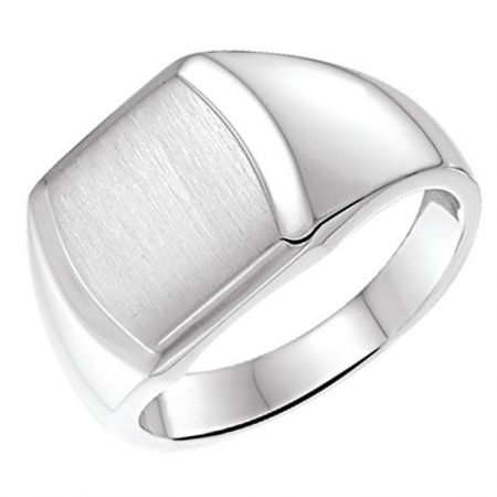 Zilveren ring heren