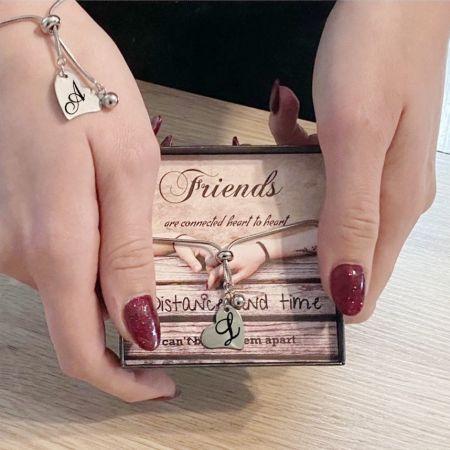 Vriendschap armbandje hart