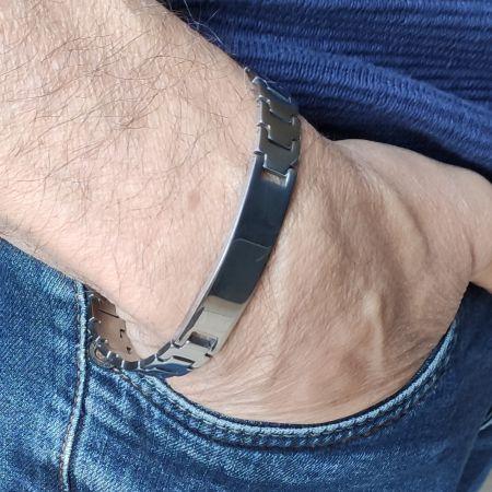 Stalen armband 20cm x 10mm