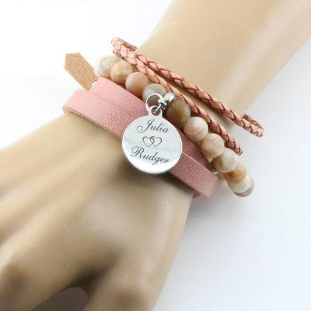 Fotoarmband -set van drie armbanden-